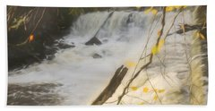 Water Over The Dam. Hand Towel