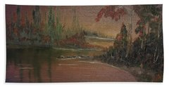Water Scene 1 Hand Towel