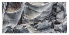 Water Sculpting Rock Art By Kaylyn Franks  Hand Towel