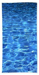Hand Towel featuring the photograph Water Shadows by Ramona Matei