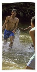 Water Soccer Bath Towel