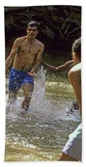 Water Soccer Hand Towel