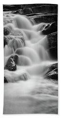 water stair in Ilsetal, Harz Hand Towel