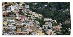 Water Taxi From Amalfi To Positano Bath Towel