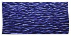 Water Waves Hand Towel