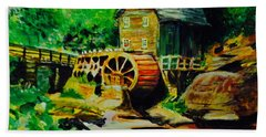 Water Wheel Hand Towel