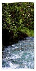 Watercolor Big Springs Missouri 2125 W_2 Bath Towel