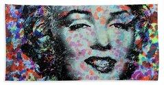 Watercolor Marilyn Hand Towel