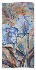 Watercolor - Orchid Impression Bath Towel
