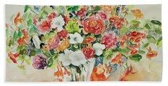 Watercolor Series 23 Hand Towel