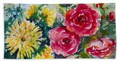 Watercolor Series No. 212 Hand Towel