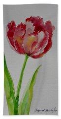 Watercolor Series No.  228 Bath Towel