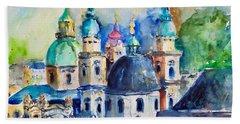 Watercolor Series No. 247 Hand Towel