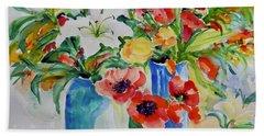 Watercolor Series No. 256 Hand Towel