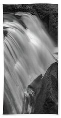 Hand Towel featuring the photograph Waterfall 1577 by Chris McKenna