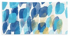 Waterfall- Abstract Art By Linda Woods Hand Towel by Linda Woods