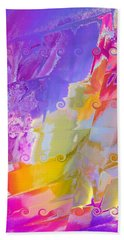 Waterfall Hand Towel by Alika Kumar