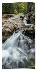 Waterfall At The Basin Bath Towel