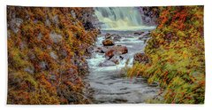 Waterfall #g8 Hand Towel