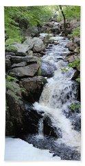 Waterfall Pillsbury State Park Hand Towel