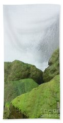 Hand Towel featuring the photograph Waterfall by Raymond Earley
