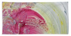 Waterfall In Pink Hand Towel