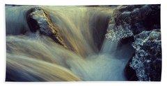 Waterfall Bath Towel by Scott Meyer
