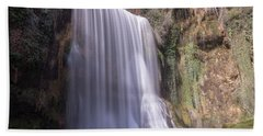 Waterfall With The Silk Effect Hand Towel