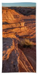 Waterhole Canyon Sunset Vista Hand Towel