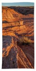 Waterhole Canyon Sunset Vista Bath Towel
