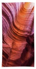 Waterholes Canyon Ribbon Candy Hand Towel