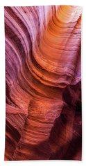Waterholes Canyon Ribbon Candy Hand Towel