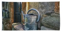 Watering Cans Bath Towel