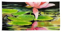 Waterlily Hand Towel