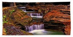 Watkins Glen State Park 014 Bath Towel