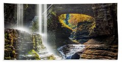 Watkins Glen State Park Bath Towel