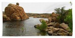 Watson Lake Arizona Bath Towel