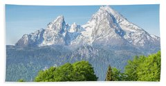Watzmann Hand Towel by JR Photography