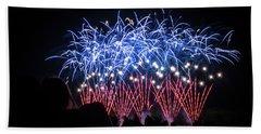 Waukesha Fireworks 04 Hand Towel