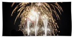 Waukesha Fireworks 06 Bath Towel