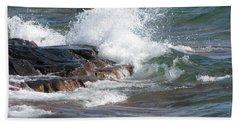 Wave Length Bath Towel