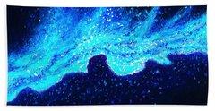 Wave Nebula Hand Towel