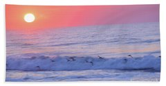 Wave Of Gratitude Nature Art Hand Towel