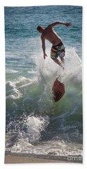 Wave Skimmer Hand Towel
