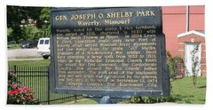 Waverly Missouri Bath Towel