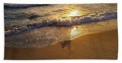 Waves After Storm Bath Towel