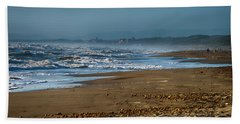 Waves At Donoratico Beach - Spiaggia Di Donoratico Bath Towel