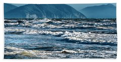 Waves At Populonia Promontory - Onde Al Promontorio  Hand Towel
