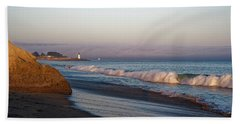 Waves At Santa Cruz Bath Towel
