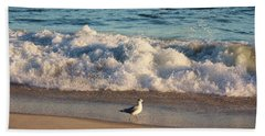 Waves Crashing  Hand Towel